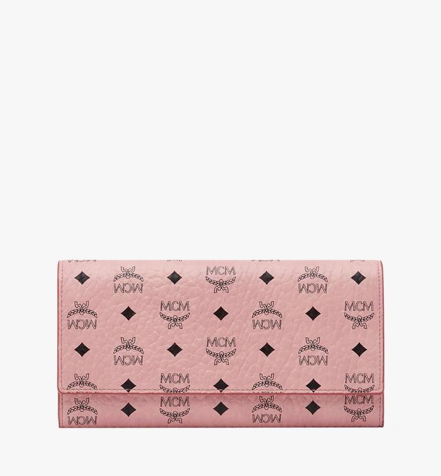 Original dreifach gefaltete Brieftasche in Visetos
