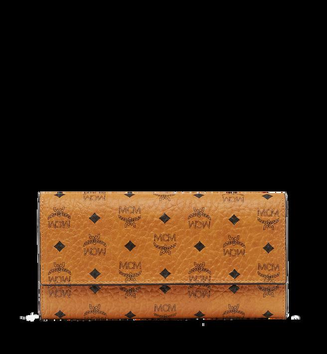 MCM Two Fold Wallet in Visetos Original Alternate View