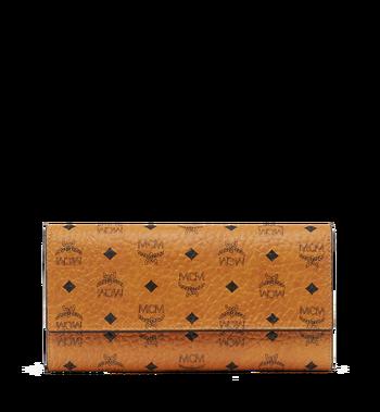 MCM Two Fold Wallet in Visetos Original MYL8SVI99CO001 AlternateView