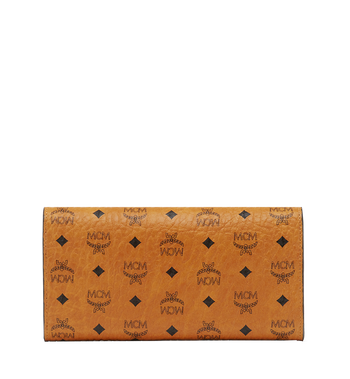 MCM Two Fold Wallet in Visetos Original MYL8SVI99CO001 AlternateView3