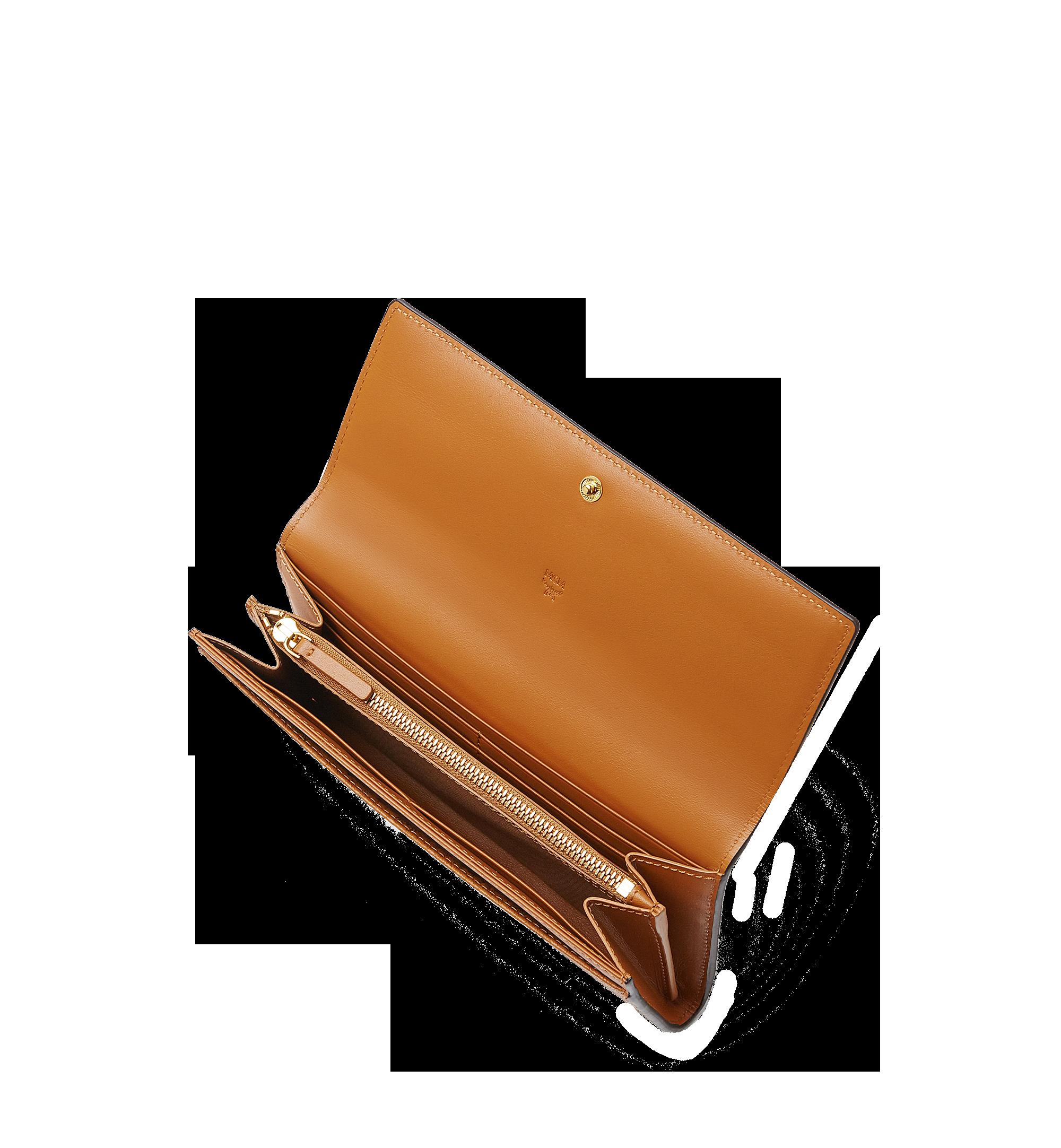 MCM Two Fold Wallet in Visetos Original Cognac MYL8SVI99CO001 Alternate View 4