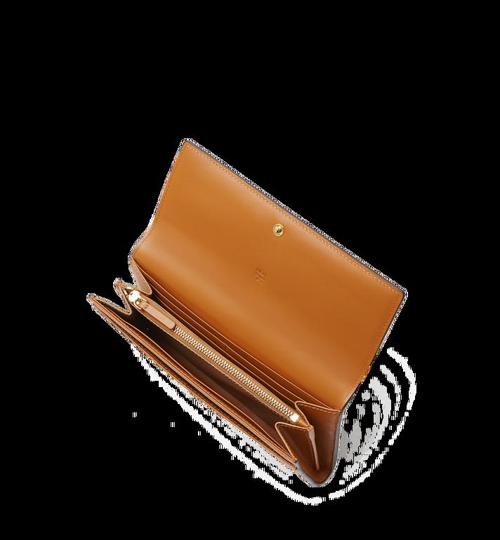 MCM Two Fold Wallet in Visetos Original MYL8SVI99CO001 AlternateView4