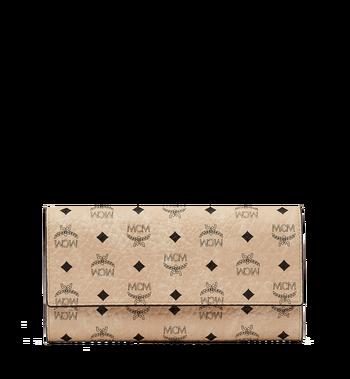 MCM Two Fold Wallet in Visetos Original MYL8SVI99IG001 AlternateView