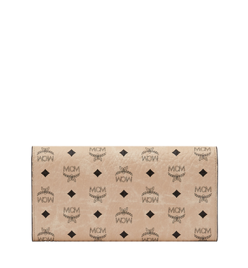 MCM Two Fold Wallet in Visetos Original MYL8SVI99IG001 AlternateView3