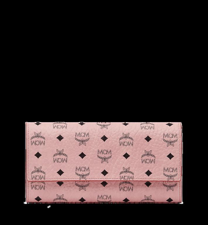 MCM Two Fold Wallet in Visetos Original MYL8SVI99PZ001 AlternateView