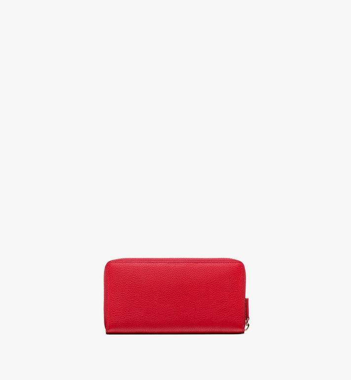 MCM Chanswell Zip Wallet in Park Avenue Leather  MYL9ACZ46RU001 Alternate View 2