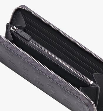 MCM Klara Zip Around Wallet in Monogram Leather Alternate View 3