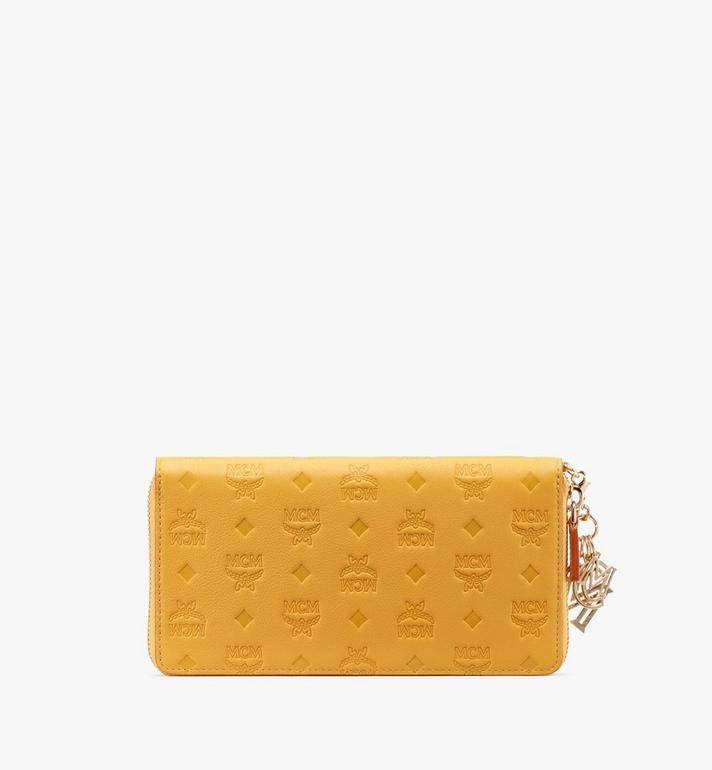 MCM Klara Zip Around Wallet in Monogram Leather Alternate View 2