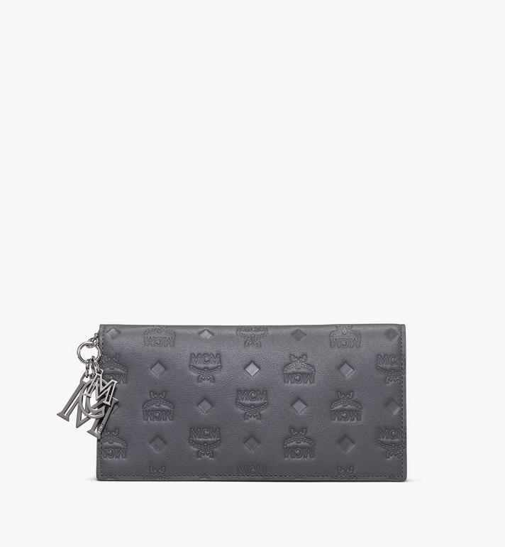 MCM Klara Two-Fold Wallet in Monogram Leather Alternate View