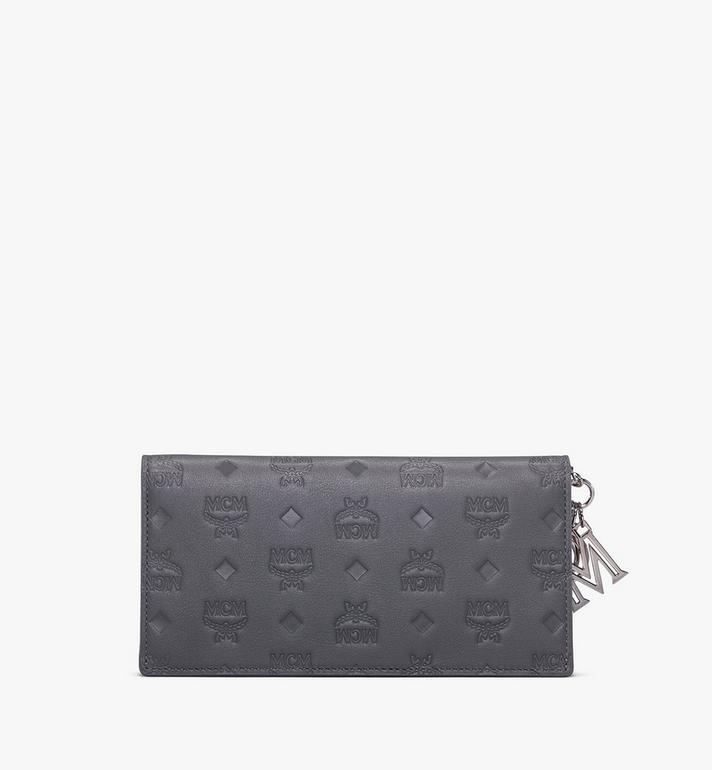 MCM Klara Two-Fold Wallet in Monogram Leather  MYL9AKM12EC001 Alternate View 2