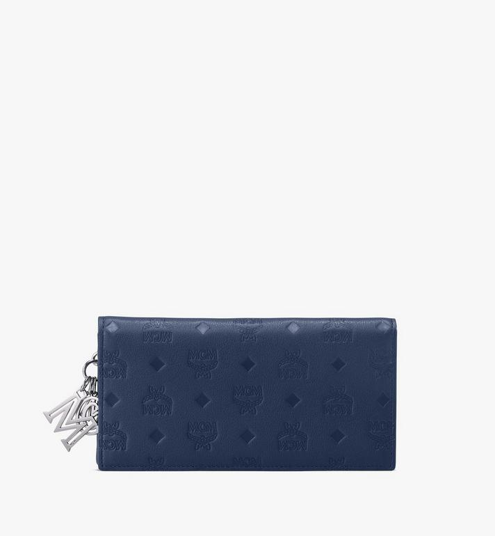 MCM Klara Two-Fold Wallet in Monogram Leather Alternate View