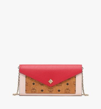 MCM Love Letter Crossbody Wallet in Colorblock Visetos Alternate View