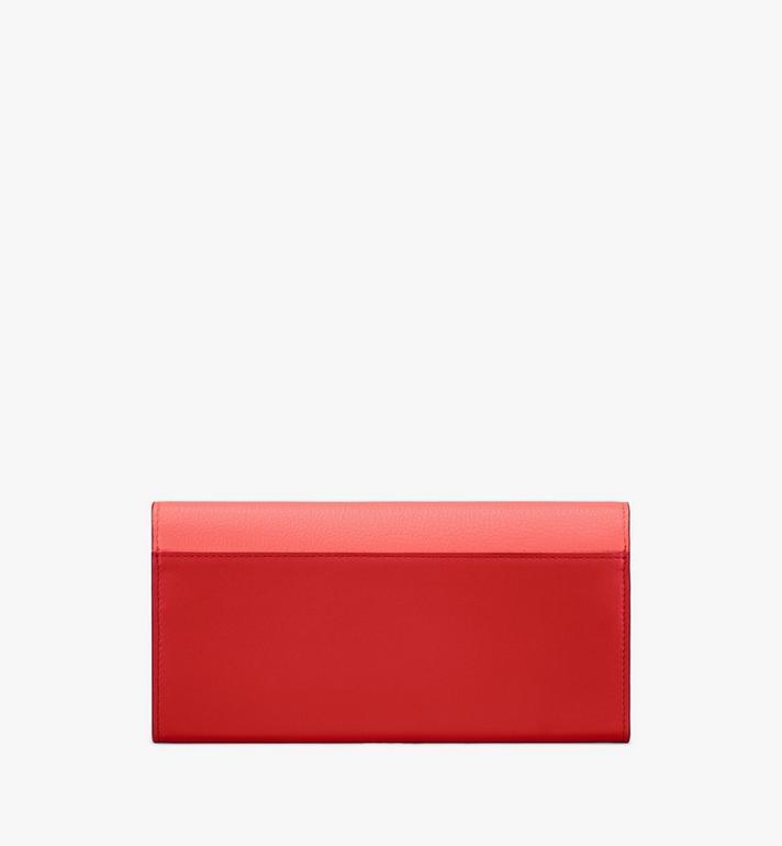 MCM Portefeuille à bandoulière Love Letter en cuir color-block Pink MYL9ALV01O3001 Alternate View 2