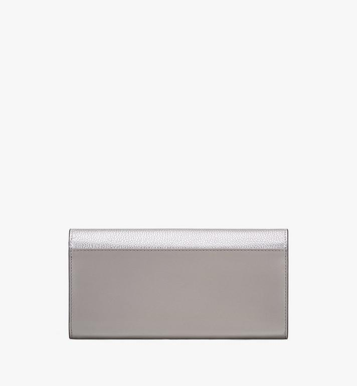 MCM Love Letter Crossbody Wallet in Color Block Leather Silver MYL9ALV01SE001 Alternate View 2