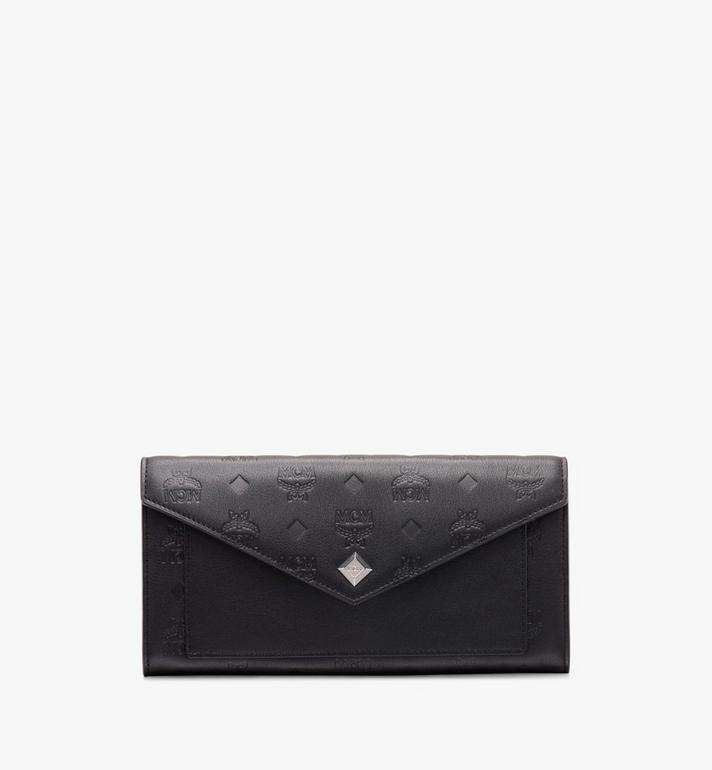 MCM Love Letter Crossbody Wallet in Monogram Leather Alternate View