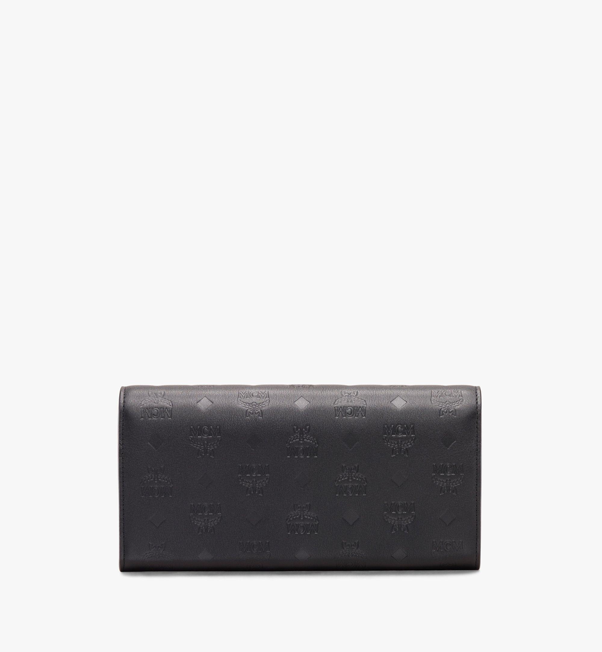 MCM Love Letter Crossbody Wallet in Colorblock Visetos Black MYL9ALV11BK001 Alternate View 1