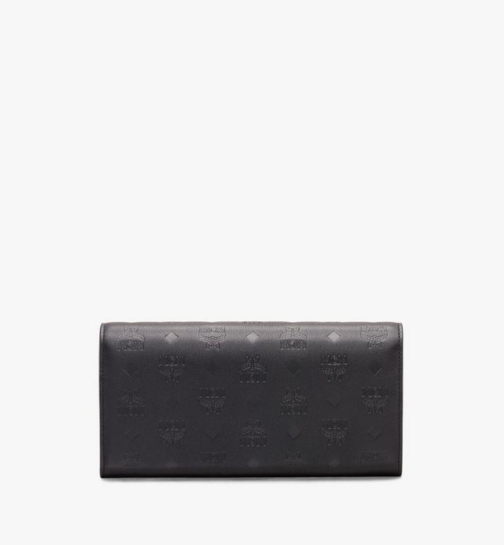 MCM Love Letter Crossbody Wallet in Monogram Leather Alternate View 2