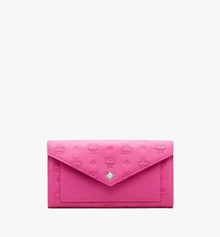 MCM Love Letter Two-Fold Wallet in Colorblock Visetos Alternate View 1