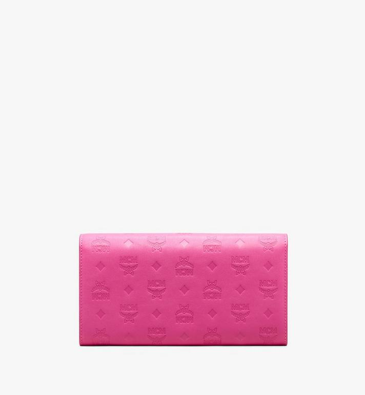 MCM Love Letter Two-Fold Wallet in Colorblock Visetos Alternate View 2