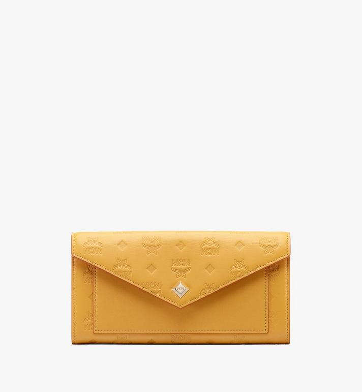MCM Love Letter Two-Fold Wallet in Colorblock Visetos Alternate View