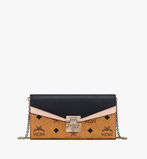 Patricia Crossbody Wallet in Color Block Leather