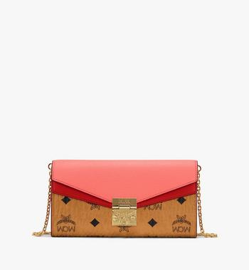 MCM Patricia Crossbody Wallet in Color Block Leather Alternate View