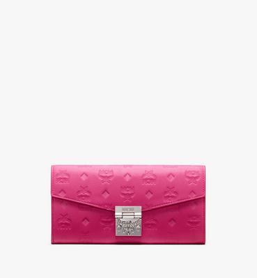 Patricia Crossbody Wallet in Monogram Leather