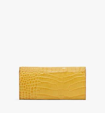 MCM Patricia Crossbody Wallet in Embossed Crocodile Alternate View 2
