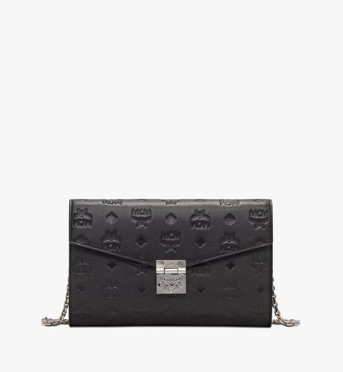 Patricia Continental Crossbody Wallet in Monogram Leather