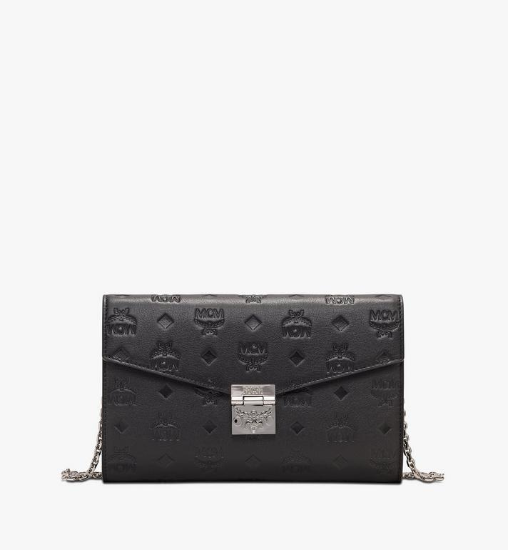 One Size Patricia Continental Crossbody Wallet In Monogram