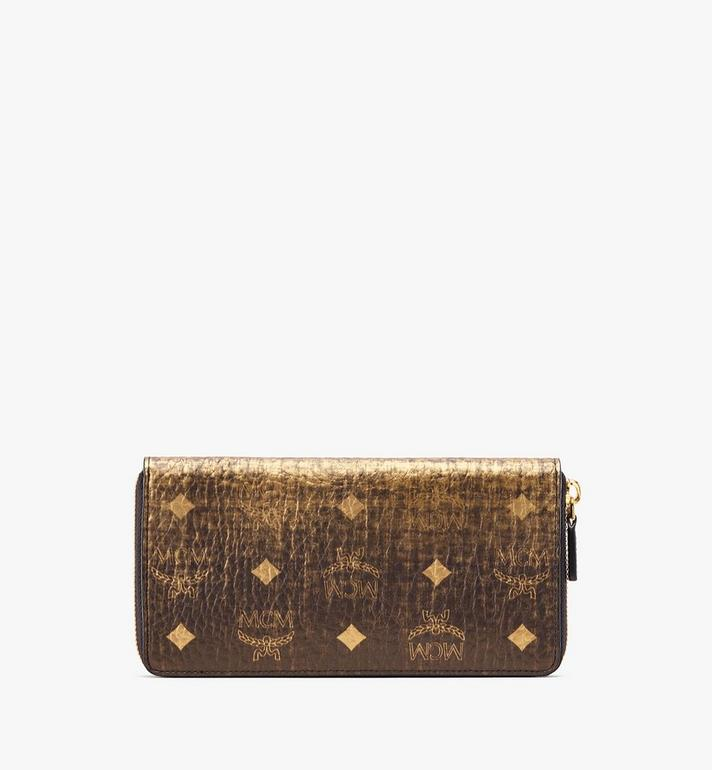 MCM Zip Wallet in Gradation Visetos  MYL9AVI45DG001 Alternate View 2