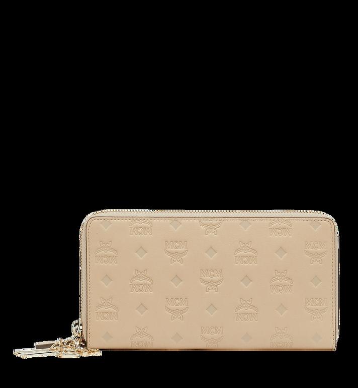 MCM Zip Around Wallet in Monogram Leather Charm MYL9SKM11IA001 AlternateView