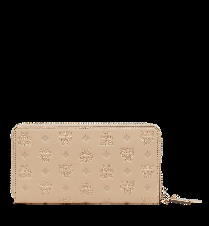MCM Zip Around Wallet in Monogram Leather Charm MYL9SKM11IA001 AlternateView3