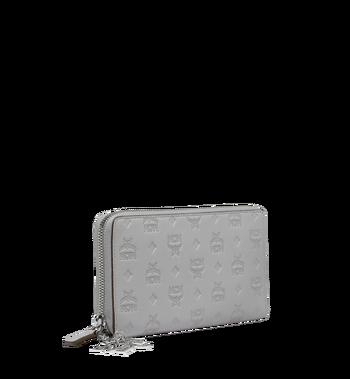 MCM Zip Around Wallet in Monogram Leather Charm Alternate View 2