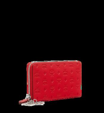 MCM Zip Around Wallet in Monogram Leather Charm MYL9SKM11RJ001 AlternateView2