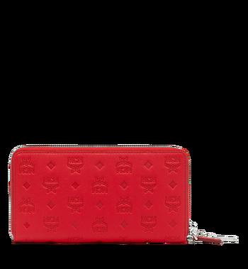 MCM Zip Around Wallet in Monogram Leather Charm MYL9SKM11RJ001 AlternateView3