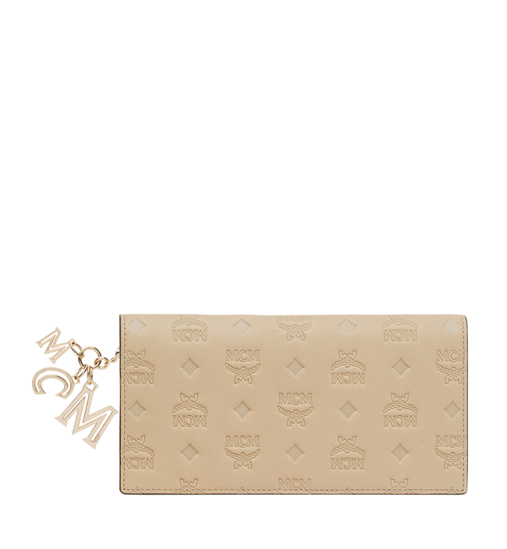 MCM Two Fold Wallet in Monogram Leather Charm MYL9SKM12IA001 AlternateView