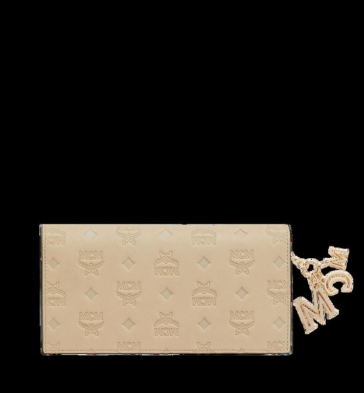 MCM Two Fold Wallet in Monogram Leather Charm MYL9SKM12IA001 AlternateView3