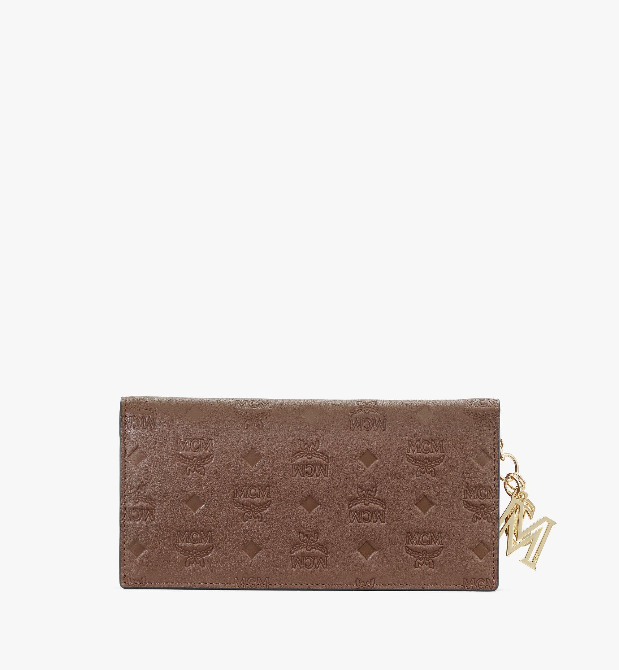MCM Klara Continental Wallet in Monogram Leather Brown MYL9SKM12N5001 Alternate View 2
