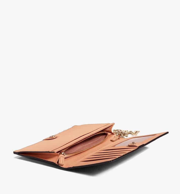 MCM Klara Continental Wallet in Monogram Leather Brown MYL9SKM12N5001 Alternate View 3