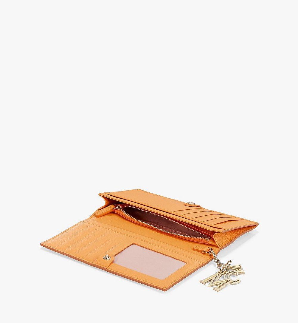 MCM Klara Continental Wallet in Monogram Leather Beige MYL9SKM12N6001 Alternate View 1