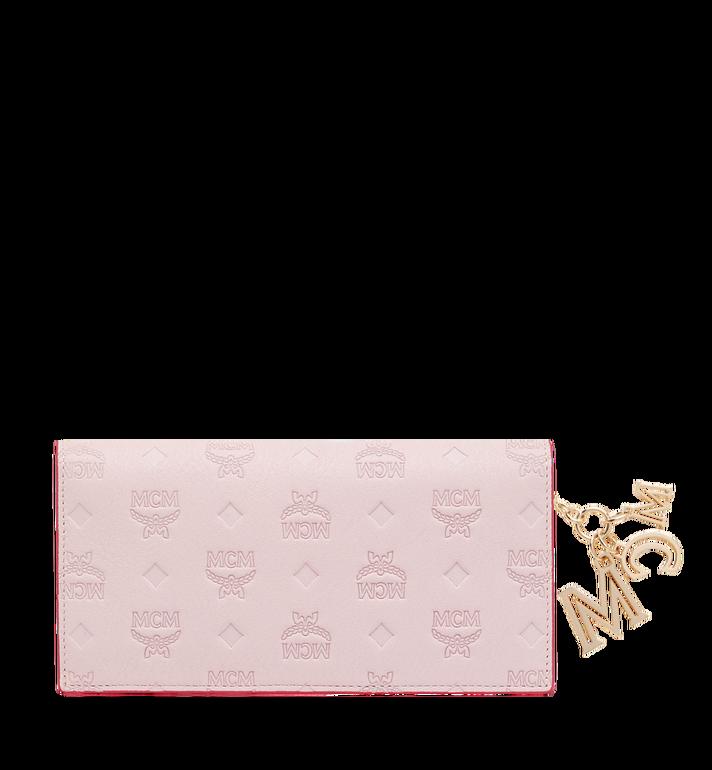 MCM Two Fold Wallet in Monogram Leather Charm MYL9SKM12QA001 AlternateView3