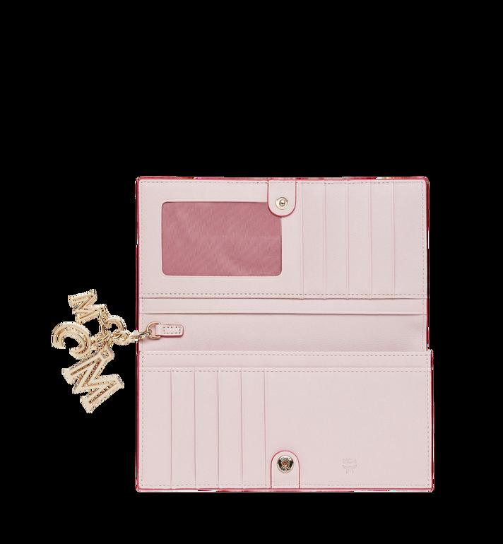 MCM Two Fold Wallet in Monogram Leather Charm MYL9SKM12QA001 AlternateView4