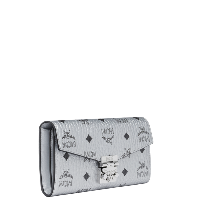 MCM Patricia Crossbody Wallet in Visetos Alternate View 2