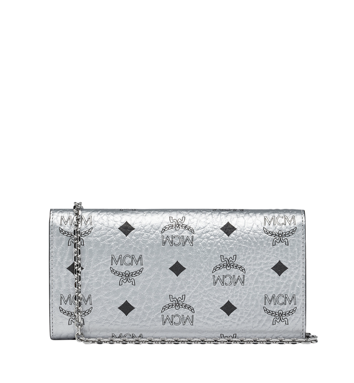 MCM Patricia Crossbody Wallet in Visetos Alternate View 3