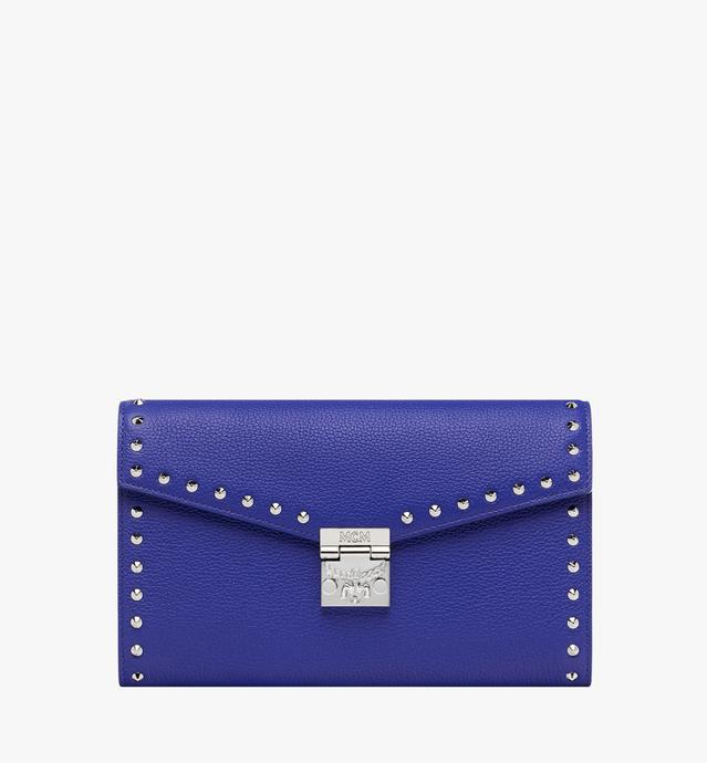 Portefeuille Patricia Continental en cuir Studded Outline