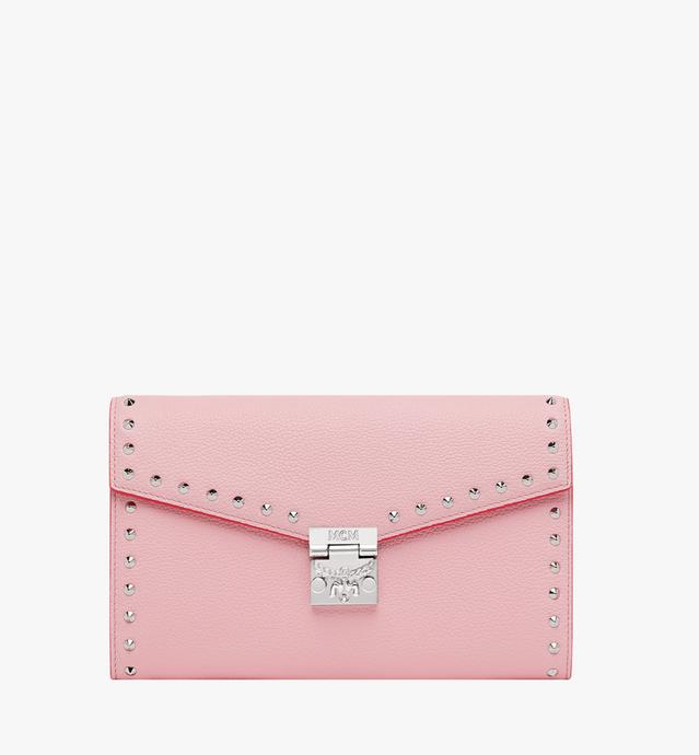 Patricia Continental Brieftasche aus Studded Outline Leder