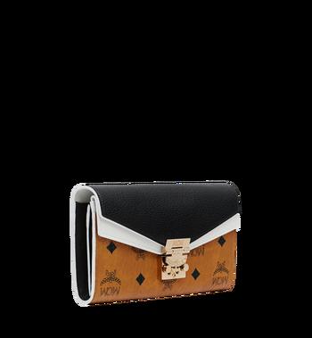 MCM Patricia Crossbody Wallet in Visetos Leather Block Alternate View 2