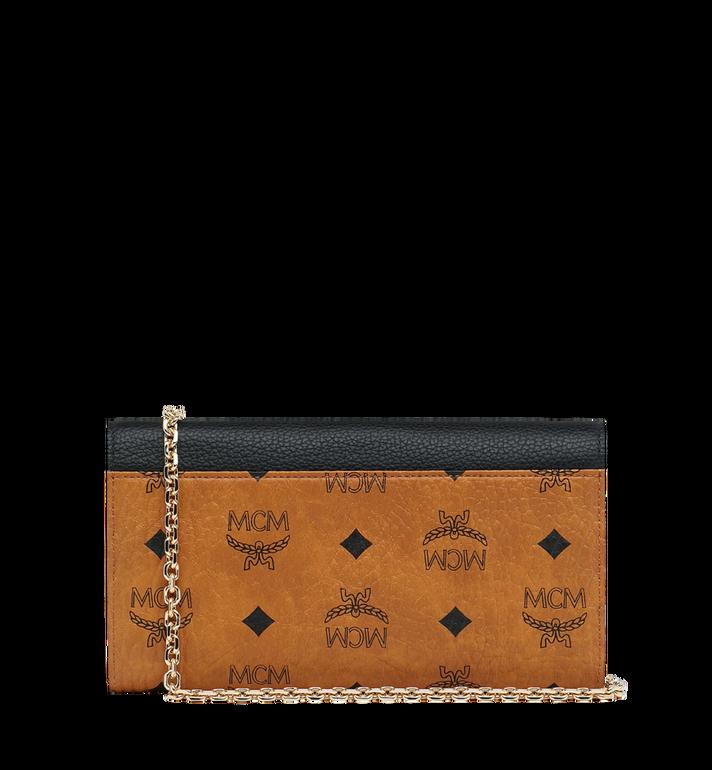 MCM Patricia Crossbody Wallet in Visetos Leather Block MYL9SPA34CB001 AlternateView3