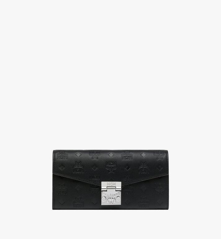 MCM Patricia Crossbody Wallet in Monogram Leather MYL9SPA55BK001 AlternateView